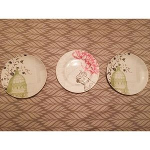 Anthropologie Porcelain Plates